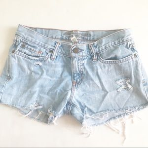Abercrombie & Fitch Cut Off Jean Shorts
